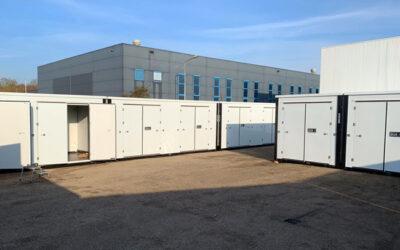 Oplevering compleet Storage Park Opslagbox Zutphen