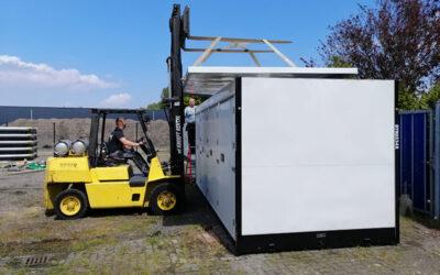 Ook opgeleverd: Opslagpark in Lelystad